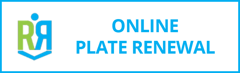 Online Plate Renewal